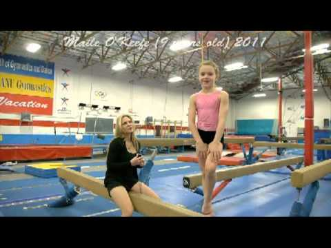 Up and Coming Child to Teen Gymnast