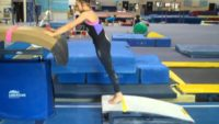 Gymnastics Instruction:  Dive Roll Drills