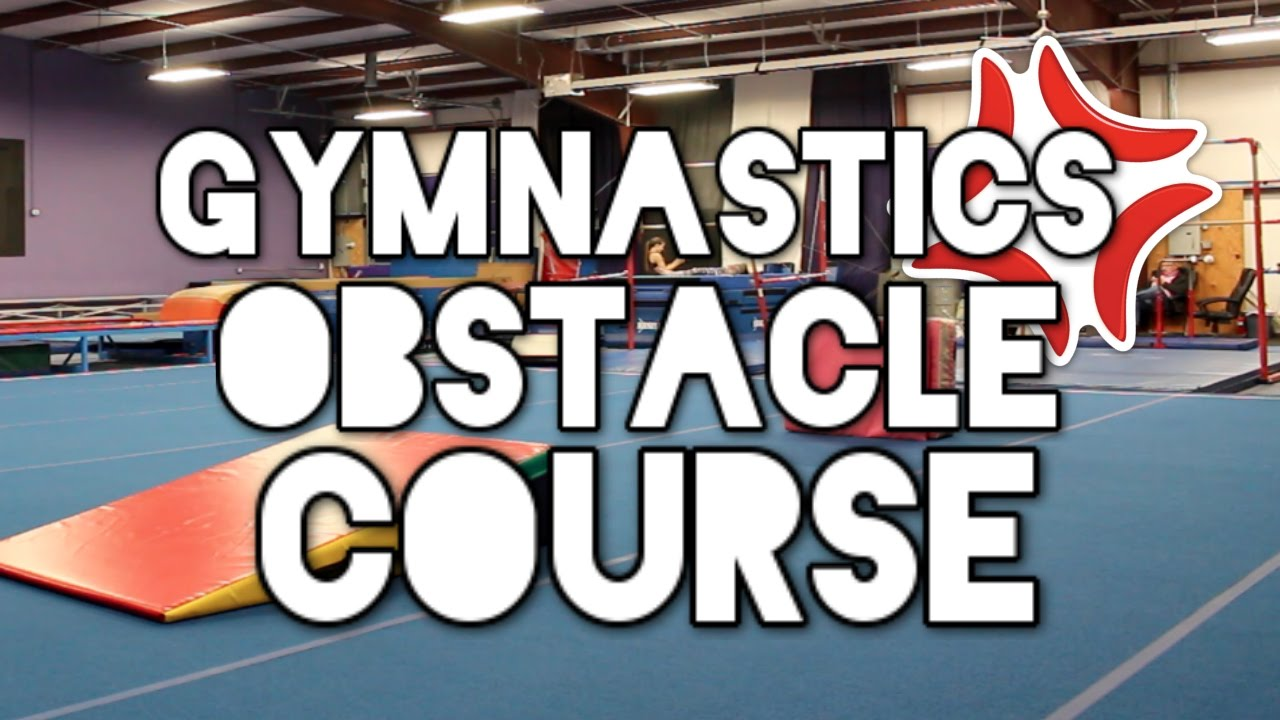 Kids Wear Themselves Out on Gymnastics Obstacle Course
