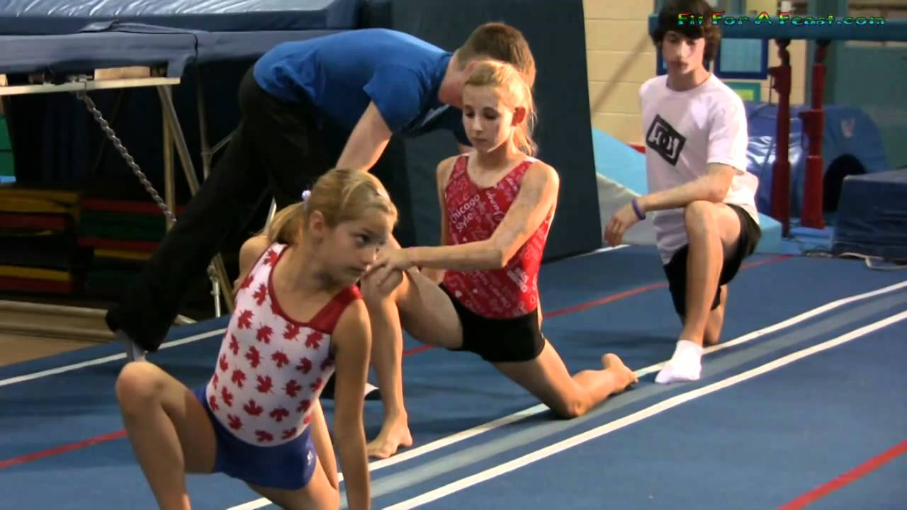 Stretching Exercises for Kids In Gymnastics